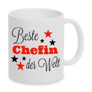 Beste Chefin Der Welt Geschenk Tasse Kaffeetasse Buro Geburtstag
