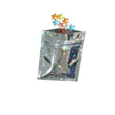 HOLOGRAPHIC HEAT SEALABLE STAND UP POUCH FOOD GRADE SMELL PROOF BAG