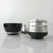 Für Exa Meyer Optik Primotar E red V 3.5/50 Objektiv / lens mit hood
