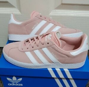 Details about Women's Adidas Originals Gazelle Trainers Ladies Girls