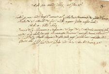 Certificato di Matrimonio fra Orazio Stefanini e Maria Benedetta Coppini 1659