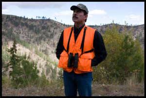Hunting Vest Hunter Orange Blaze Orange (The Al-Bino Vest)