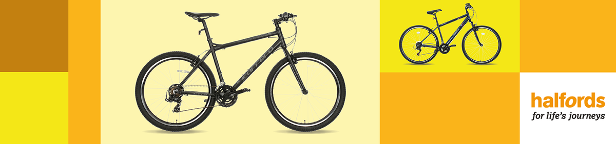 Shop event  20% off a Range of Bikes from Halfords New lines added.