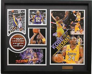 New Kobe Bryant Signed LA Los Angeles Lakers Limited Edition Memorabilia