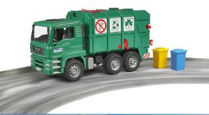 tienda de pescado para la venta Man TGA Camión de basura Bruder Coche de de de Juguete Modelo 1 16 1 16  barato en línea
