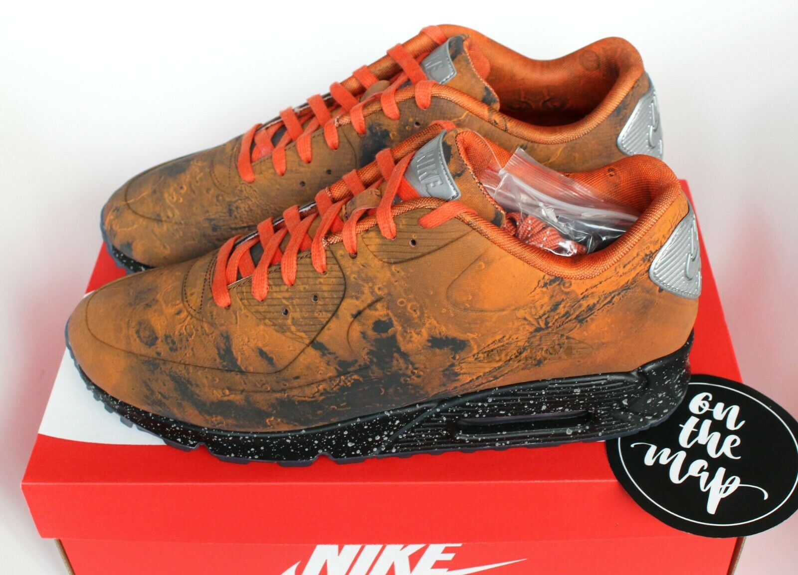 Nike Air Max 90 QS AM90 Mars Landing Magma orange UK 5 6 7 8 9 10 11 12 US New