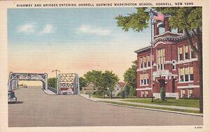 New-York-Postcard-034-Entering-Hornell-Washington-School-034-Hornell-NY-034-U1-WA38