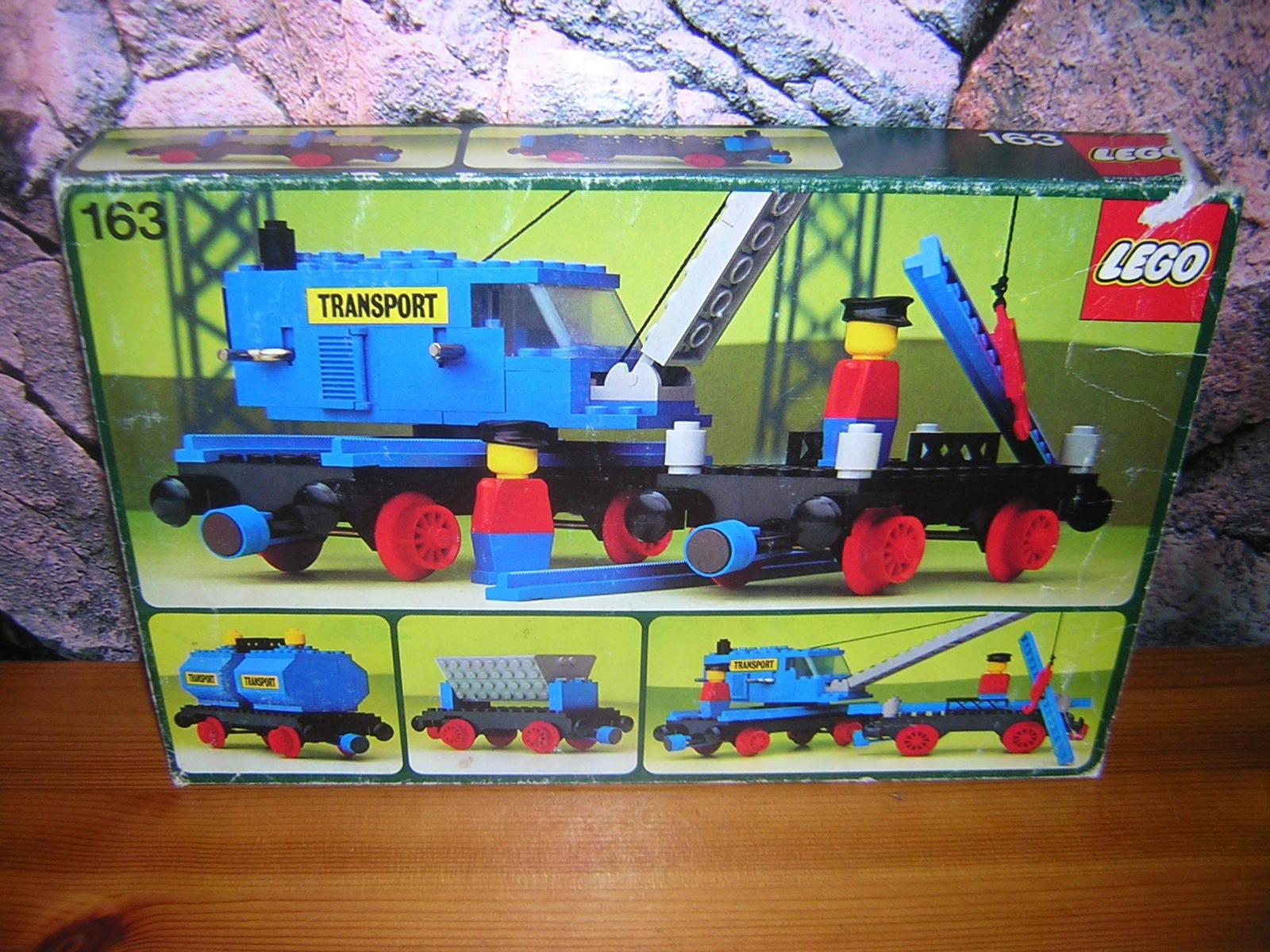 ( HK ) LEGO CLASIC Tren Tren Tren 128 162 163 emb.orig BA 4,5v 9v 12v 723e60