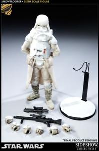 Sideshow Coleccionables De Star Wars Snowtrooper 1 6 Escala Figura Exclusiva Nuevo Imperio Contraataca