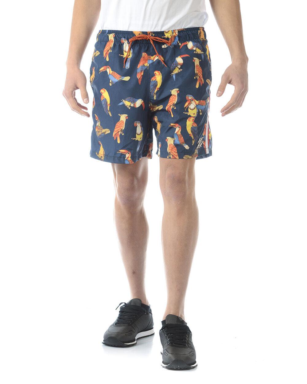 Costume Mare Daniele Alessandrini Beachwear Swimsuit men blue DA132NO3702 4444