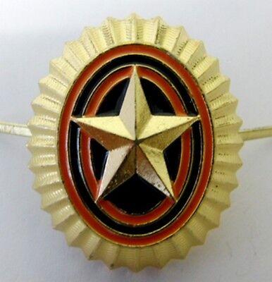 Original Russian Army Uniform Hat Cap Beret Badge Metal Enamel 35 x 30 mm New
