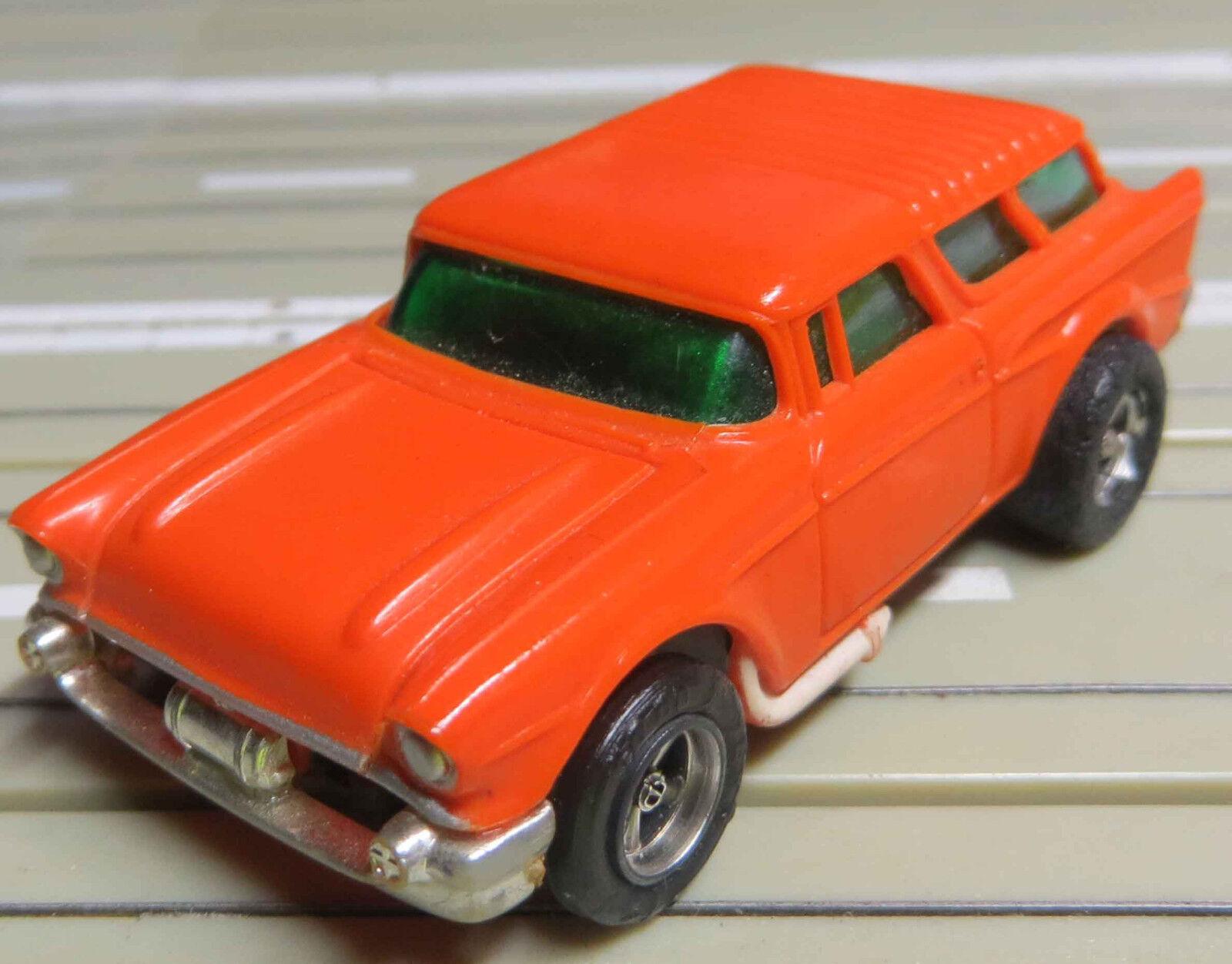 Für H0 Slotcar Slotcar Slotcar Racing Modellbahn --   seltener ´57er Chevy Nomad mit AFX Motor  | Verrückte Preis  820eda