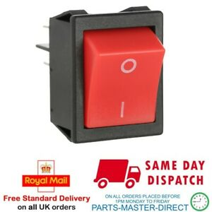 FITS NUMATIC HENRY JAMES HETTY VACUUM CLEANER ROCKER ON OFF SWITCH BUTTON