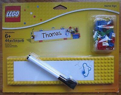 New Sealed Lego Name Sign 850798 dry erase board 44 pcs