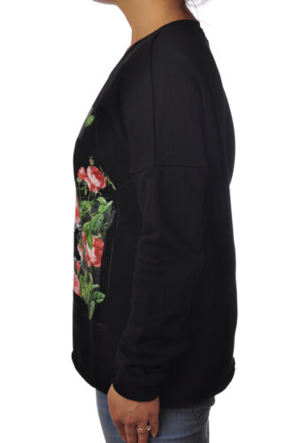 Topwear Nero 5244417d183759 felpe Happiness Donna Ppqwn7