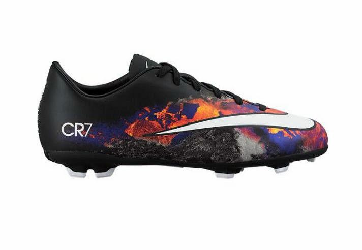 Nike mercurial sieg gegen cr7 mens fg boden boden fg fußballschuhe - schwarz & multi 00ab07