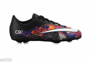 calcio V da Mens multi terreni e Fg Scarpa nera Cr7 Nike duri Mercurial Victory per U1wcx