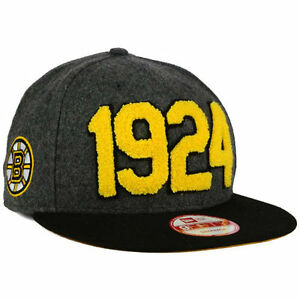 Boston Bruins New Era NHL Pack Series 950 Snapback Flat Bill Brim ... 9b1721041cb3