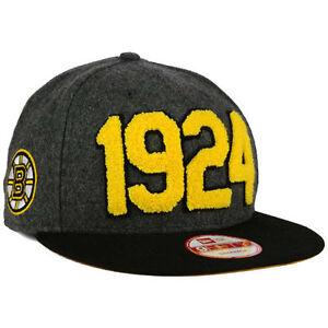 b76075d2883 Boston Bruins New Era NHL Pack Series 950 Snapback Flat Bill Brim ...