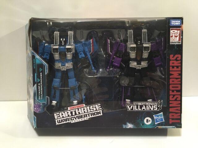 Transformers War for Cybertron Earthrise Skywarp Thundercracker WFC-E29