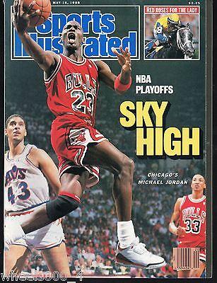 Sports Illustrated 1988 Chicago Bulls Michael Jordan  NR/Mint No Label