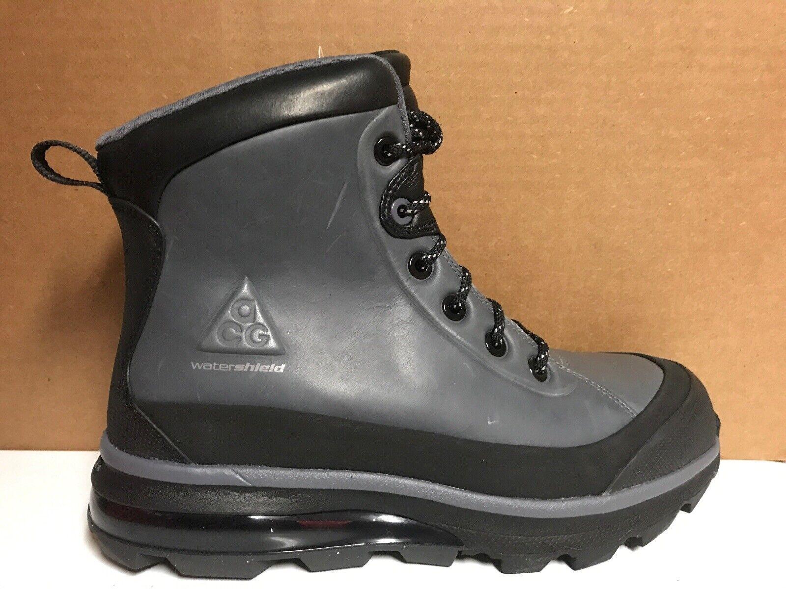 Nike Air Max Conquer ACG stivali nero  Dark grigio 472493 010 Sz 8  negozio di vendita outlet