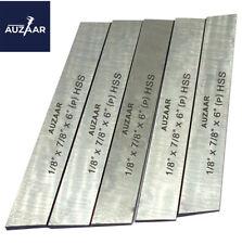 5 Pcs Cut Off Blade 18 X 78 X 6 M2 Hss Hardened Ground Parting Tool