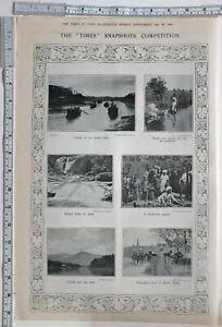 Details about 1911 INDIA PRINT PYKARA FALLS SOUTH INDIA PAPERHASE MEET AT  RAWAL PINDI
