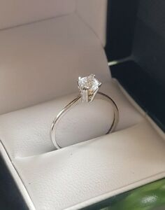 9ct-white-gold-created-diamond-solitaire-from-our-Dubai-bridal-range-size-N