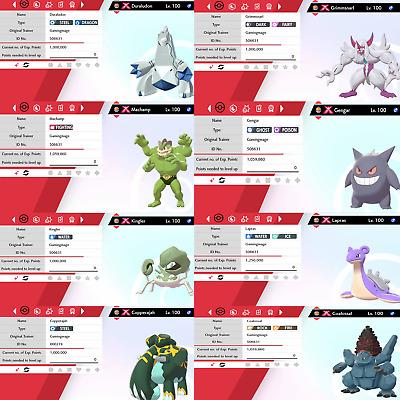 Poke Guide Ultra Shiny Sword//Shield 6IV Shiny Grimmsnarl Gigantamax