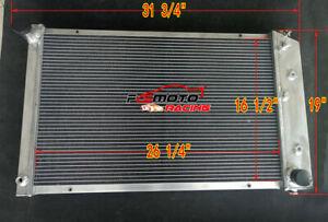 3 rows aluminum radiator for Chevy El Camino 1978-1987 1979 1980 1981 1982 1983