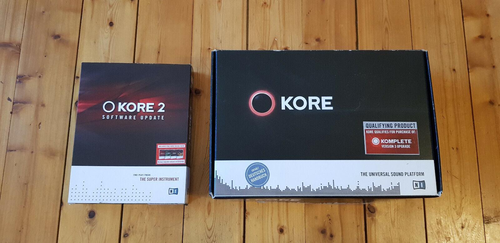 Native Instruments KORE 1 mit Lizenz und  Update auf KORE 2