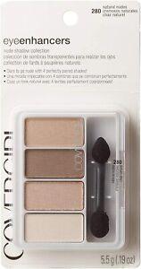 CoverGirl Eye Enhancers 4-Kit Eyeshadow, Natural Nudes 280, 5.5g / 0.19 oz