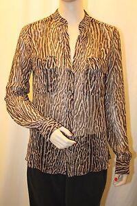 Blouse Azria Anderson Xs Thm1v240 Sz Top Printed New Combo s474 Bcbg Camel Max w0FqEZEX