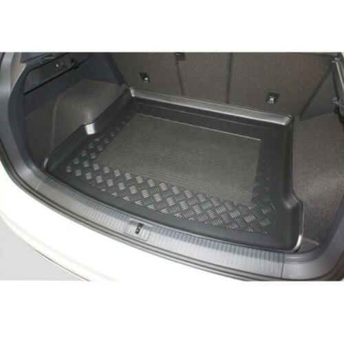 Kofferraumwanne Kofferraummatte passt für VW Tiguan 2 II SUV 2016 Boden hoch-mAR