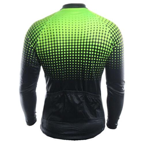 Cycling Jersey Jacket MTB Bike Long Sleeve Tight Shirt Team Ride Clothing Top