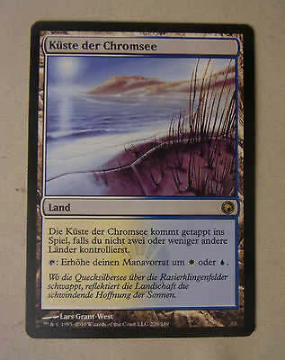 Sammelkartenspiel Magic the Gathering MtG KÜSTE DER CHROMSEE Land Rare