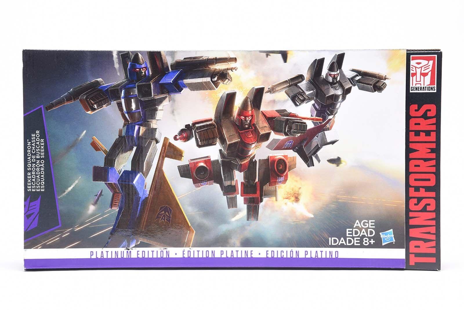 Transformers G1 Platinum Edition SEEKER SQUADRON Digre Thrust Ramjet für Jungen