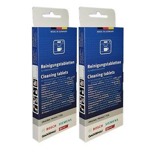 6 x SIEMENS TZ80001N Reinigungstabletten 10 Tabletten pro Packung