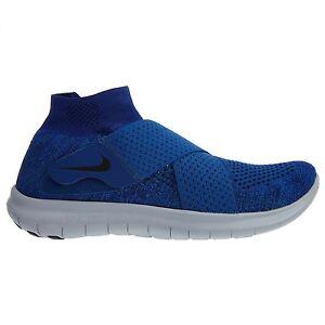 51929e5728f77 Nike Free RN Motion Flyknit 2017 Mens 880845-401 Gym Blue Running ...