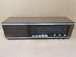 Vintage 70's Grundig Type RF.111 GB All Transistor Radio LW MW FM (VHF) Wooden