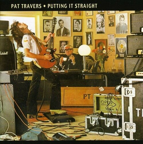 putting it straight remastered by pat travers cd 2005 majestic