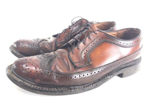 Vintage Shoes Men's Coburne Square Classic Brown L