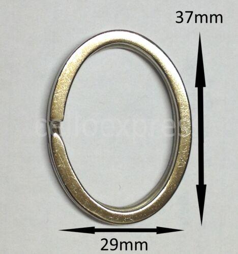 Value Double Loop Split Ring Key Keyring Craft Findings Hoop Vary Size /& Colour