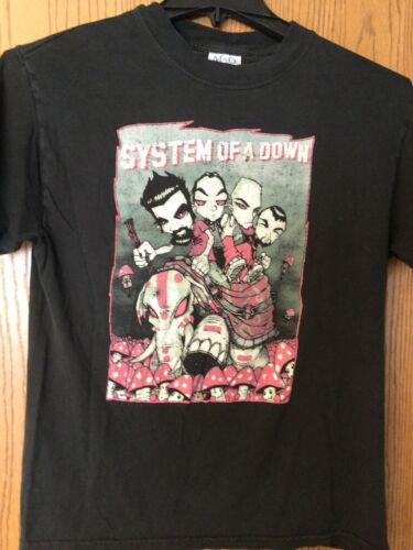 System Of A Down.   Black Shirt.   M.