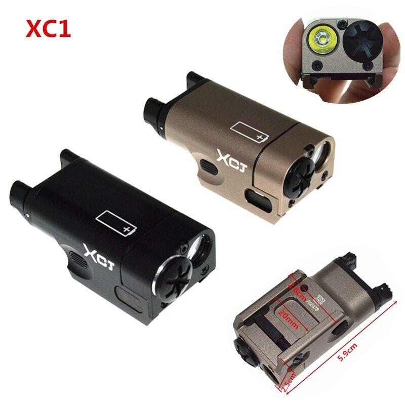 Outdoor Tactical Ultra-Compact LED Handgun Light XC1 Mini Flashlight Scopes