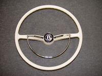 Steering Wheel Color Ivory Fits Volkswagen Type1 Ghia Type3