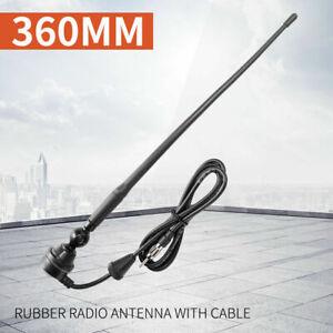 Rubber-Radio-Antenna-Duck-AM-FM-Black-UHF-Antenna-Fits-4X4-Car-Truck-Caravan