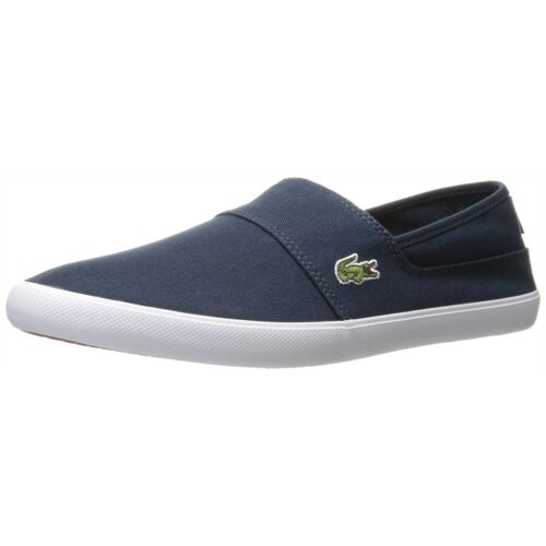 Lacoste Men/'s Casual Comfort Shoes Marice Canvas Slip On Loafers NEW Pick Color