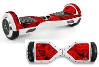 Red Roses Sticker/skin Hoverboard / Balance Board Hov12